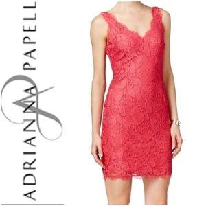 Adrianna Papell  Peony Lace Dress